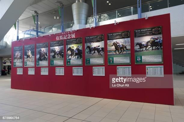 Arima Kinen exhibition at Hanshin Racecourse on December 20 2015 in Takarazuka Japan