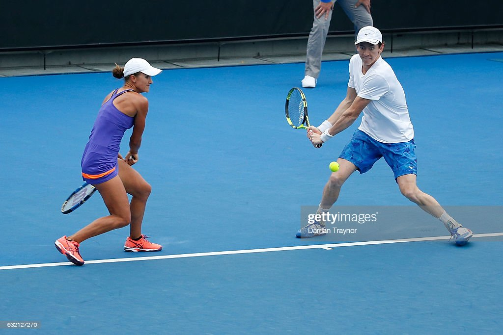 2017 Australian Open - Day 5 : News Photo