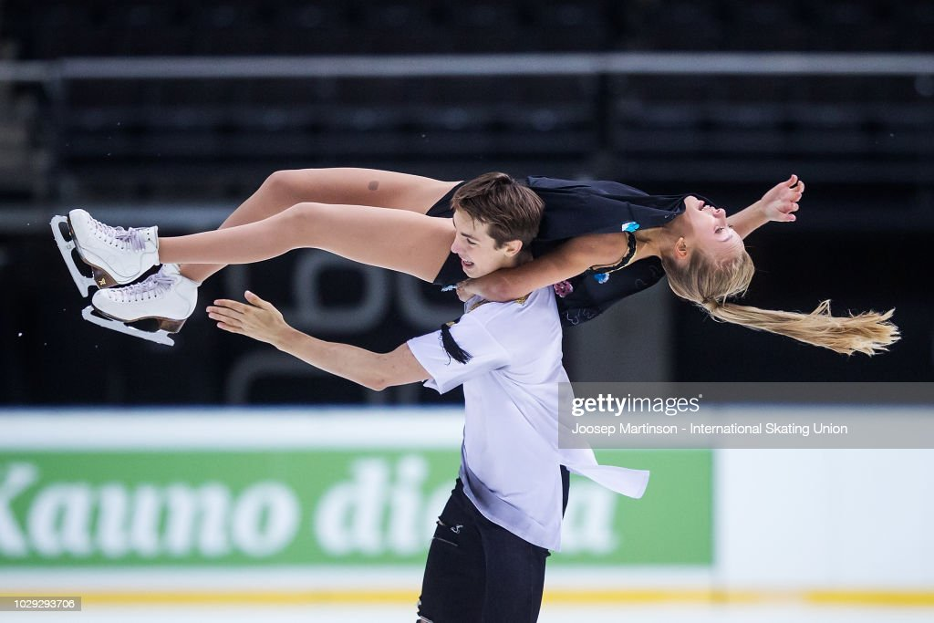 LTU: ISU Junior Grand Prix of Figure Skating - Kaunas