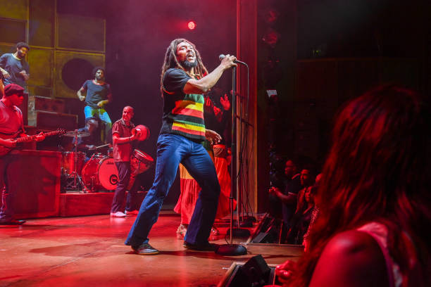 """GBR: """"Get Up Stand Up! The Bob Marley Musical"""" - Press Night - Curtain Call & Backstage"""