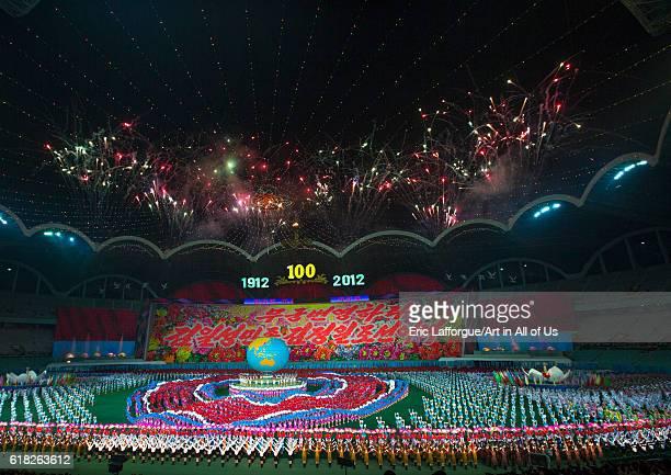 Arirang mass game in may day stadium pyongyang North Korea on September 6 2012 in Pyongyang North Korea
