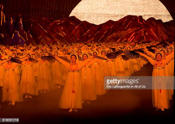 Arirang mass games at may day stadium pyongyang North Korea on September 8 2012 in Pyongyang North Korea