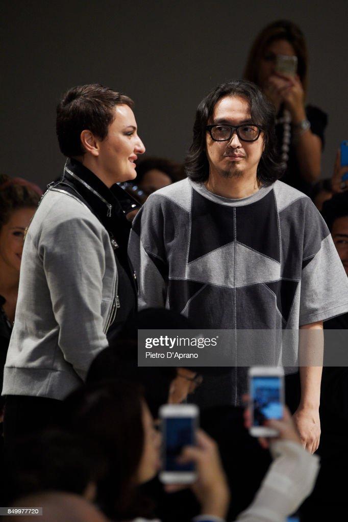 Atsushi Nakashima - Runway - Milan Fashion Week Spring/Summer 2018