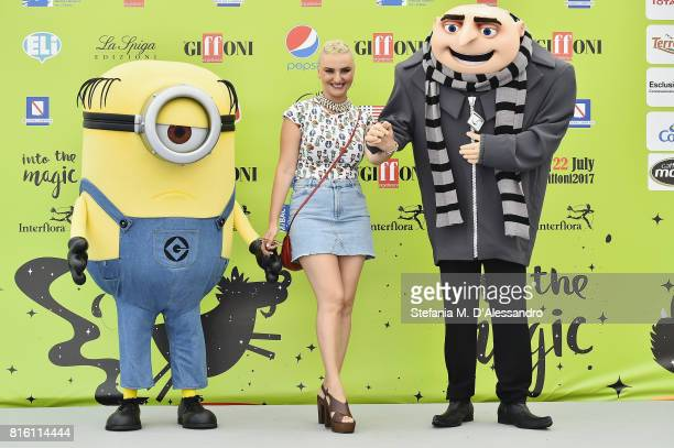 Arisa attends Giffoni Film Festival 2017 Day 4 Photocall on July 17 2017 in Giffoni Valle Piana Italy