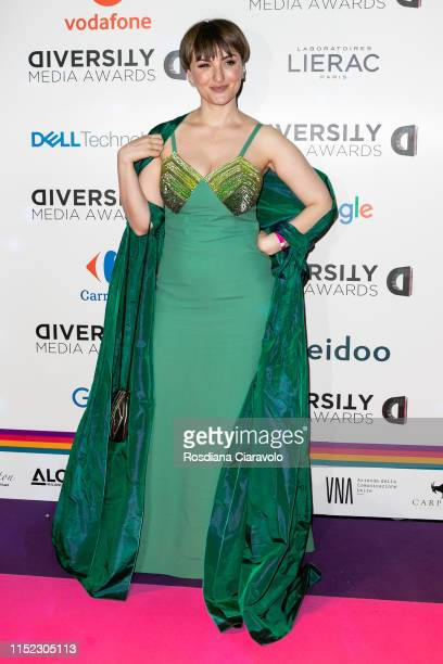 Arisa attends the Diversity Media Awards 2019 at Alcatraz on May 28 2019 in Milan Italy