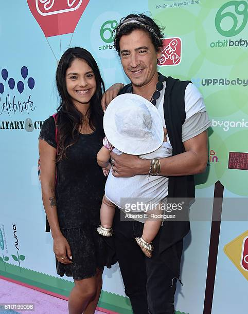 Arista Ilona Actor Andrew Keegan and daughter Aiya Rose Keegan attend the Step2 Favoredby Present The 5th Annual Red Carpet Safety Awareness Event at...