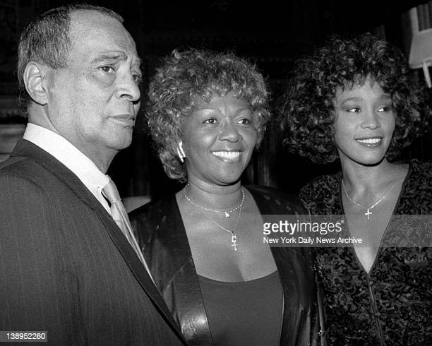 Arista Records chief Clive Davis was throwing a bash that drew glitzy guest list including Whitney Houston and her father and mother John Hoston and...