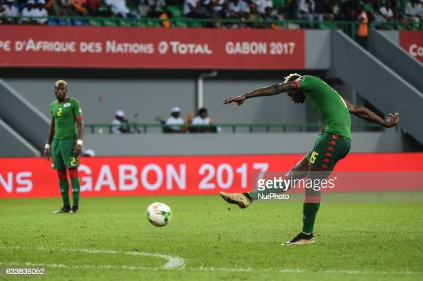 Aristide Bance during the 2017 Africa Cup of Nations 3rd place match in Port Gentile Gabon on 4/2/2017