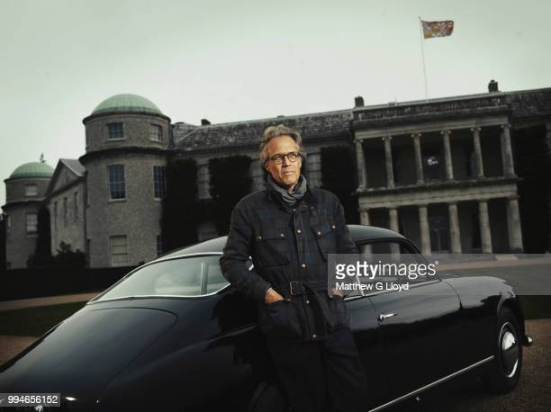 Aristocrat and founder of the Goodwood Festival of Speed Charles GordonLennox Earl of March and Kinrara is photographed at his Goodwood Estate in...