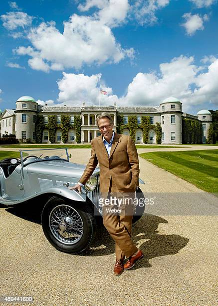 Aristocrat and of the Goodwood Festival of Speed Charles GordonLennox Earl of March and Kinrara is photographed at his Goodwood Estate in West Sussex...