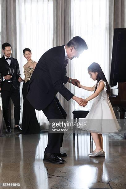 Aristocratic family gatherings