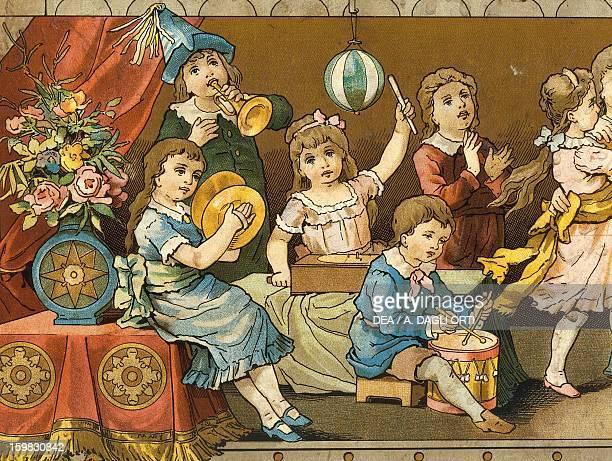 Ariston music box Children's fancy dress Detail Germany 20th century Milan Museo Del Giocattolo E Del Bambino