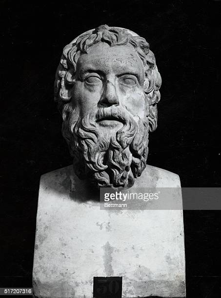 Aristophanes Athenian playwright one of the greatest writers of comedies Portrait Bust