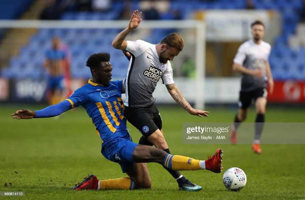 Shrewsbury Town v Peterborough United - Sky Bet League One