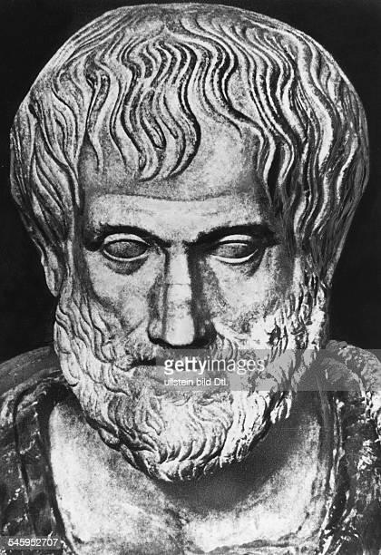Aristoteles *384 v Chr 322 v ChrPhilosoph Griechenland griechische ueüste undatiert