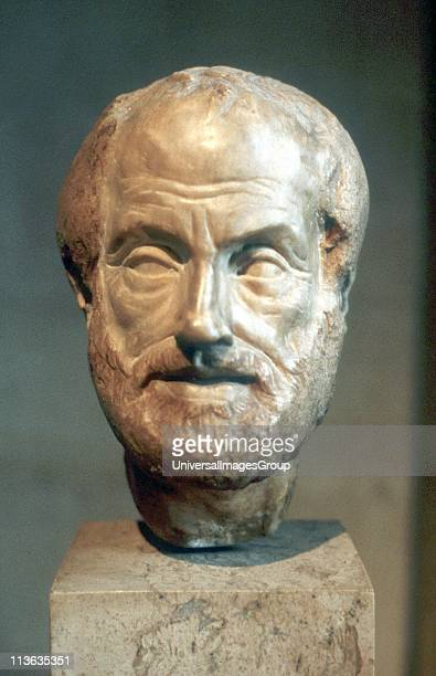 Aristotle Ancient Greek philosopher and scientist Portrait bust