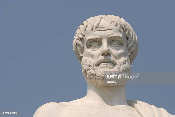 aristotle, portray,the philosopher - classical greek style stock pictures, royalty-free photos & images