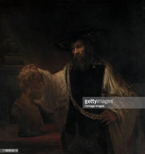 Aristotle with a Bust of Homer 1653 Artist Rembrandt Harmensz van Rijn