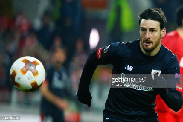 Aritz Aduriz of Athletic Bilbao is seen during the UEFA Europa League round of 32 first leg soccer match between Spartak Moscow and Athletic Bilbao...