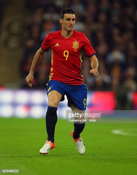 Aritz Aduriz of Spain during the International Friendly match between England and Spain at Wembley Stadium on November 15 2016 in London England