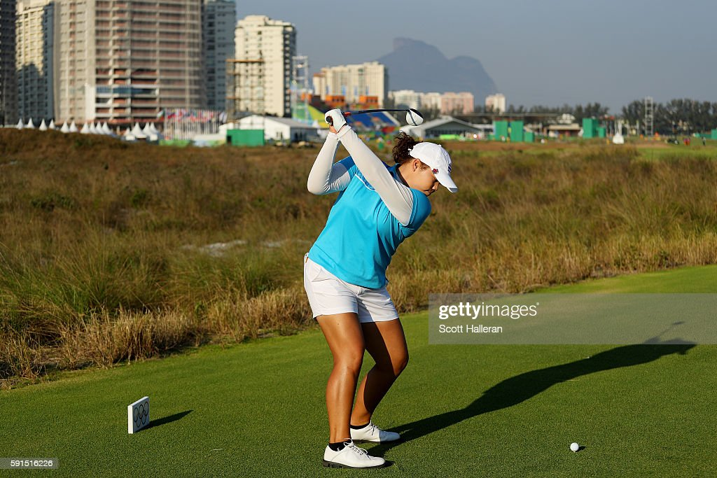 Golf - Olympics: Day 12 : News Photo