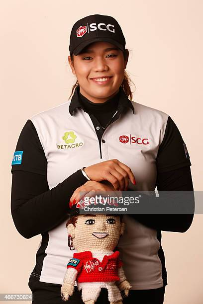 Ariya Jutanugarn of Thailand poses for a portrait ahead of the LPGA Founders Cup at Wildfire Golf Club on March 18 2015 in Phoenix Arizona