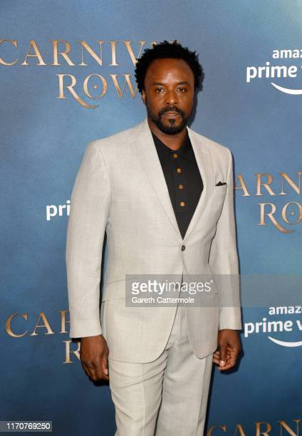 Ariyon Bakare attends the Amazon Original series Carnival Row London Screening at The Ham Yard Hotel on August 28 2019 in London England