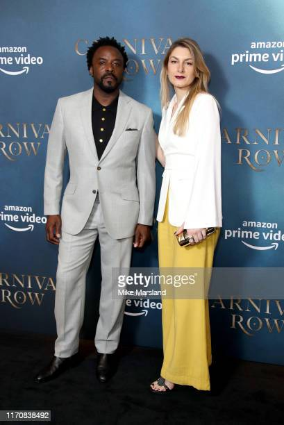 Ariyon Bakare attends the Carnival Row London Premiere at The Ham Yard Hotel on August 28 2019 in London England