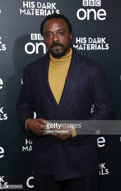 Ariyon Bakare attends the His Dark Materials premiere at BFI Southbank on October 15 2019 in London England
