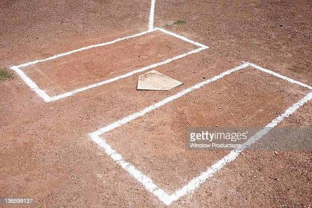 USA, Arizona, Baseball home plate