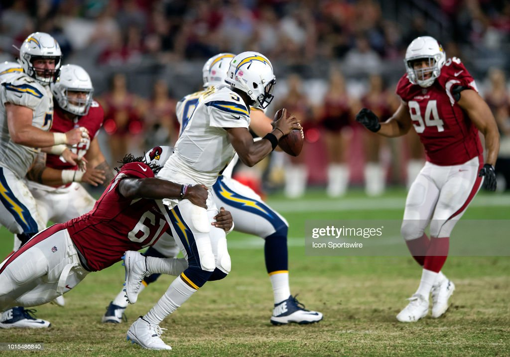 Arizona Cardinals defensive end Cap Capi wraps up Los Angeles ... 779e4d5fb338