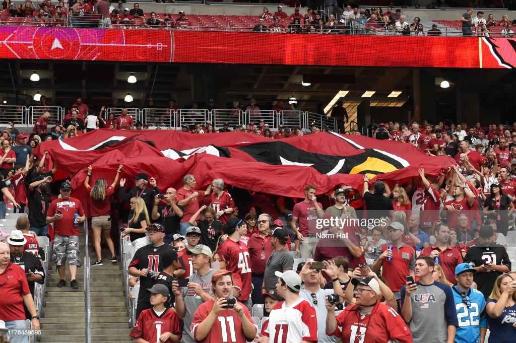 Carolina Panthers vArizona Cardinals : News Photo
