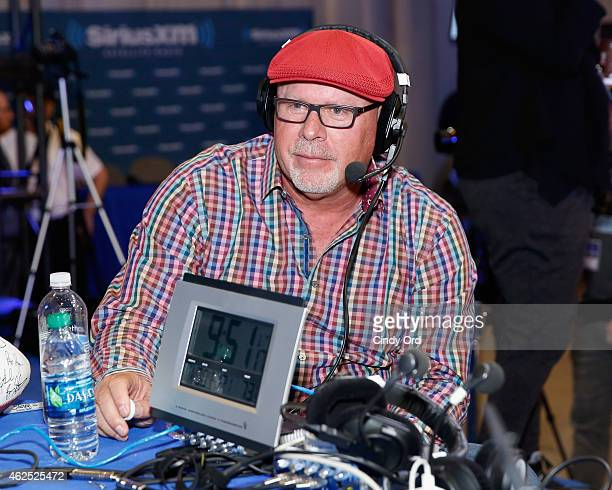 Arizona Cardinals Head Coach Bruce Arians attends SiriusXM at Super Bowl XLIX Radio Row at the Phoenix Convention Center on January 30 2015 in...