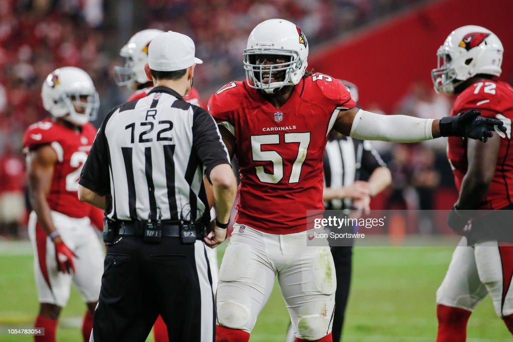 NFL: OCT 28 49ers at Cardinals : News Photo