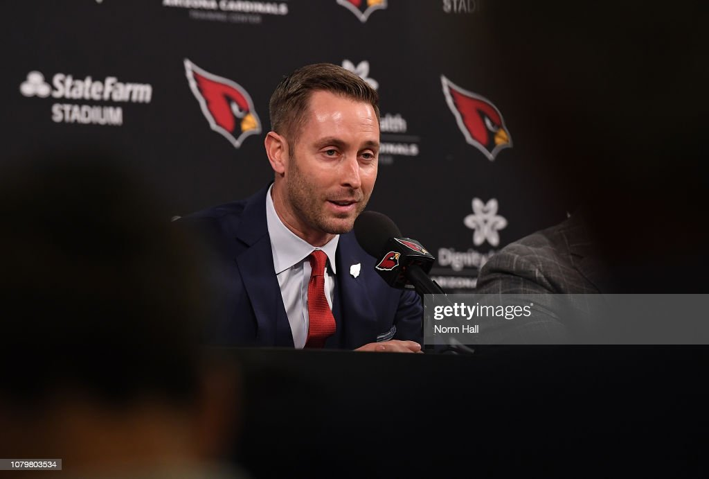 Arizona Cardinals Introduce Kliff Kingsbury - Press Conference : News Photo