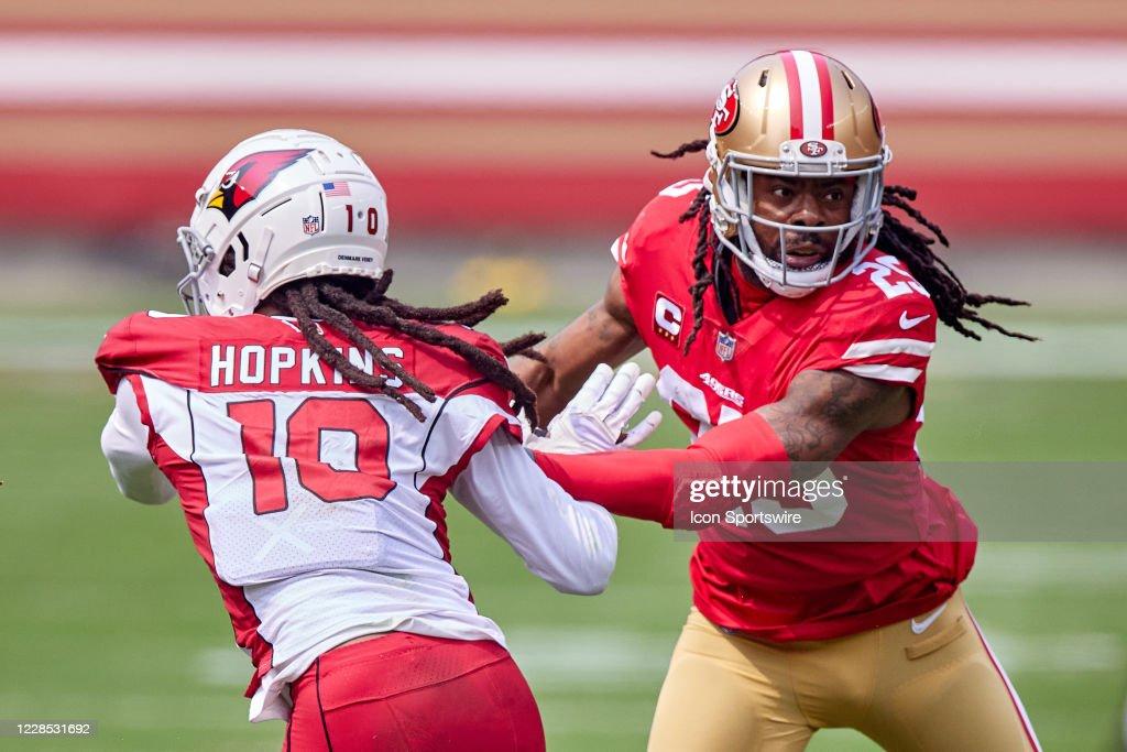 NFL: SEP 13 Cardinals at 49ers : News Photo