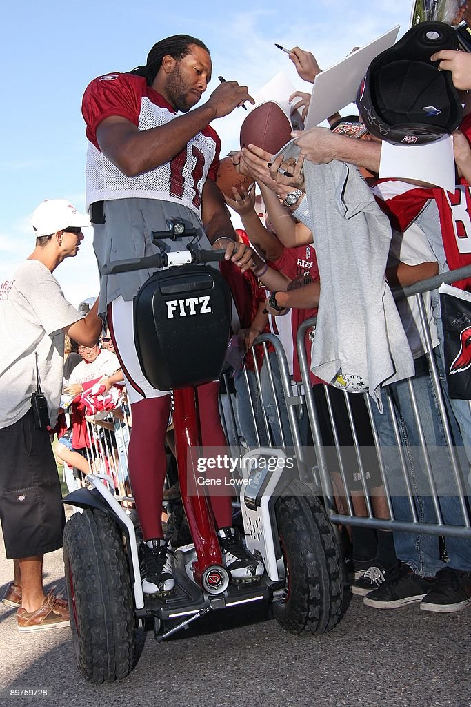 Arizona Cardinals Training Camp : News Photo