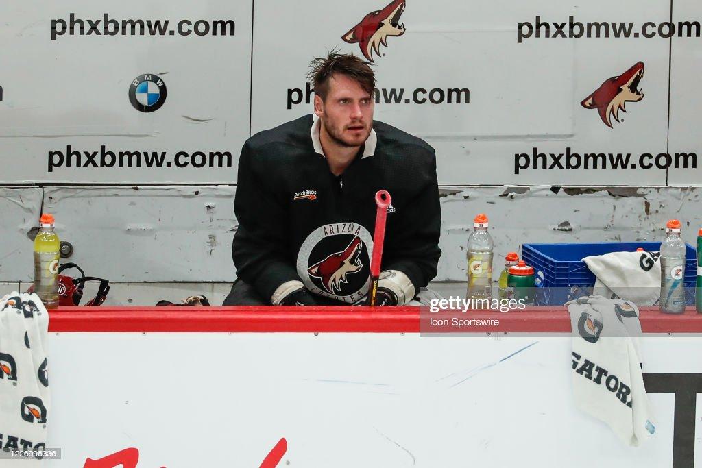 NHL: JUL 13 Coyotes Training Camp : News Photo