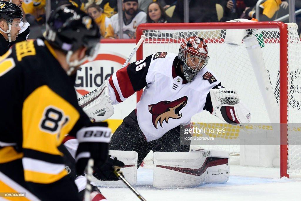 NHL: NOV 10 Coyotes at Penguins : News Photo