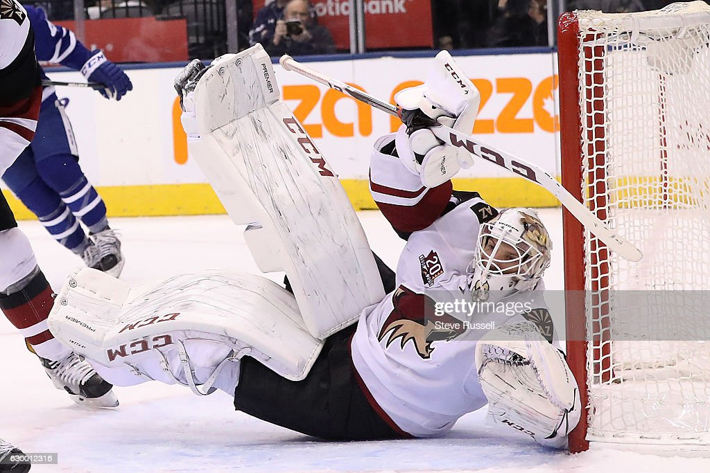 Toronto Maple Leafs lose to the Arizona Coyotes in shootout : News Photo