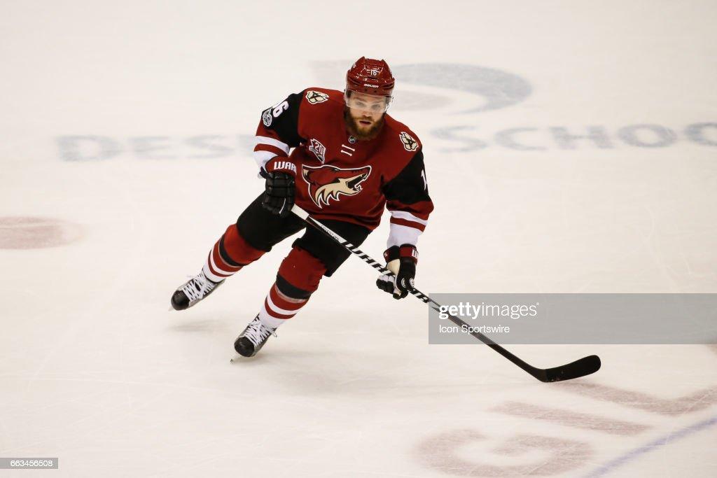 NHL: MAR 31 Capitals at Coyotes : ニュース写真