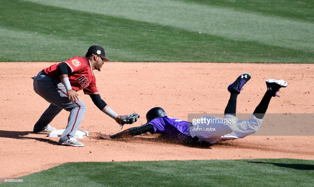 Colorado Rockies Spring Training in Scottsdale : News Photo