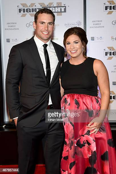 Arizona Diamondbacks first baseman Paul Goldschmidt and Amy Goldschmidt attend Muhammad Ali's Celebrity Fight Night XXI at the JW Marriott Phoenix...