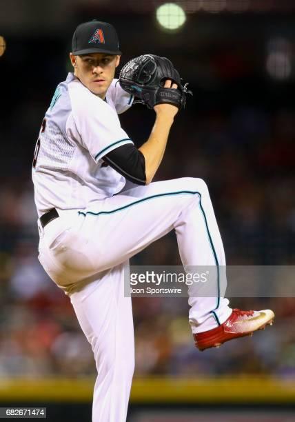Arizona Diamondbacks Pitcher Patrick Corbin delivers a pitch during the MLB game between Pittsburgh Pirates and the Arizona Diamondbacks at Chase...