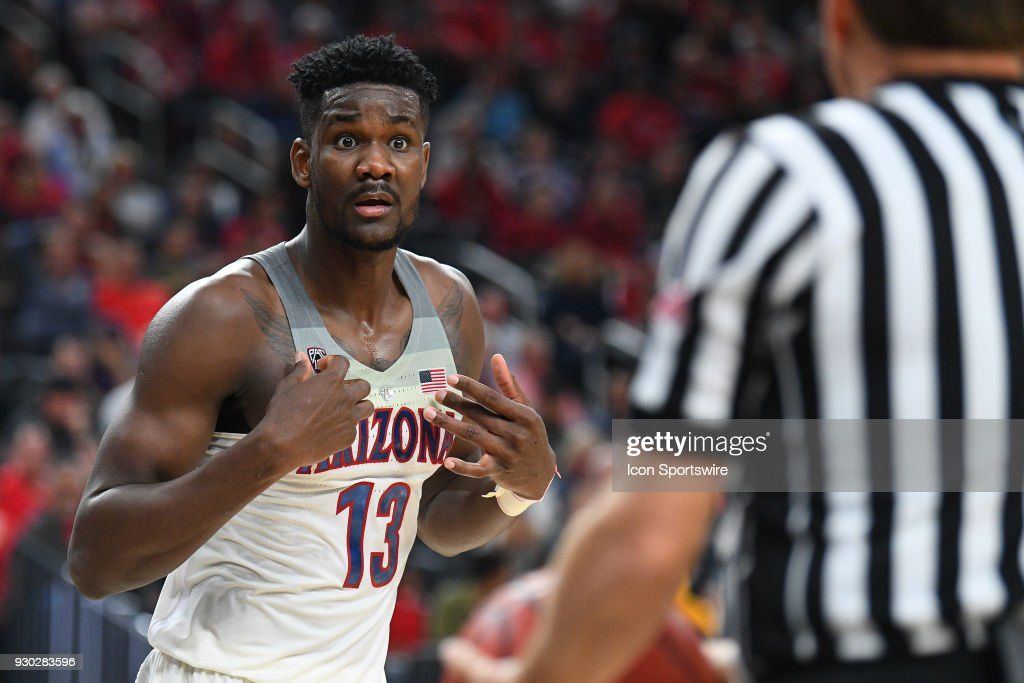 COLLEGE BASKETBALL: MAR 10 PAC-12 Tournament - USC v Arizona : News Photo