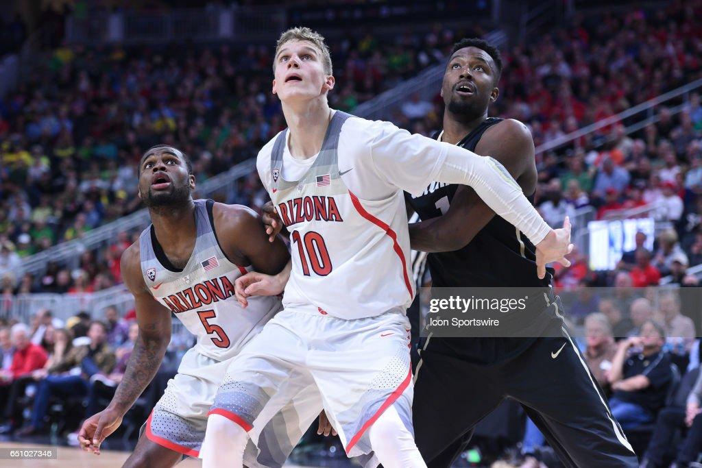 COLLEGE BASKETBALL: MAR 09 PAC-12 Tournament - Arizona v Colorado : News Photo