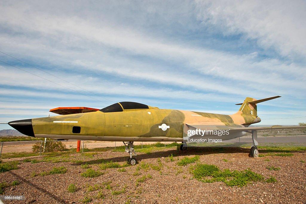 Arizona, Gila Bend Municipal Airport, Voodoo F-100 Jet ...