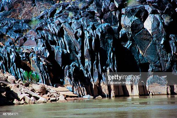 Arizona Grand Canyon National Park Colorado River River Polished Black Vishnu Schist