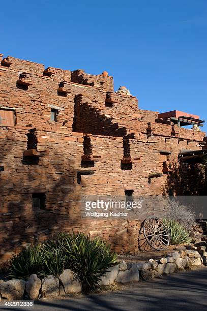 USA Arizona Grand Canyon National Park South Rim At Grand Canyon Village Hopi House