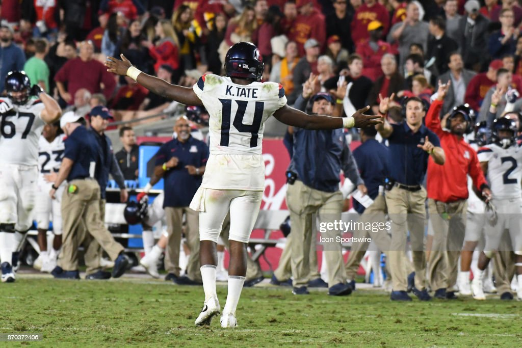 COLLEGE FOOTBALL: NOV 04 Arizona at USC : News Photo